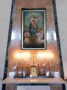 Altare della Madonna della Liga