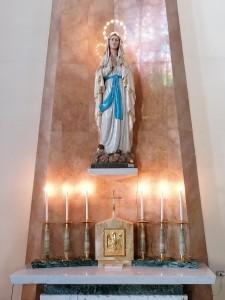 Altare di Maria Immacolata