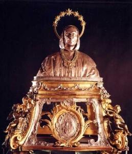 Busto argenteo di San Bruno