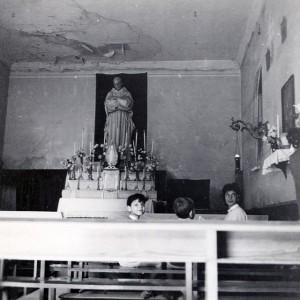 Interno della Chiesetta di San Bruno