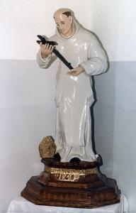 Statua di San Bruno del 1730