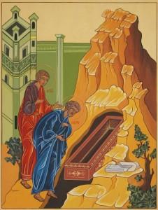 02 I discepoli trovano il sepolcro vuoto