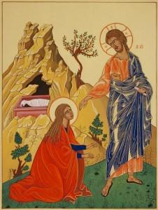 03 Gesù risorto si manifesta a Maria Maddalena