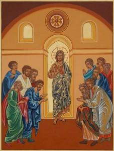 07 Gesù risorto dà agli apostoli il potere di rimettere i peccati