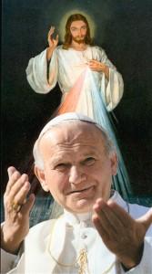 Gesù e san Giovanni Paolo II